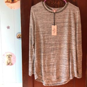 NWT Juicy Couture long sleeve size L